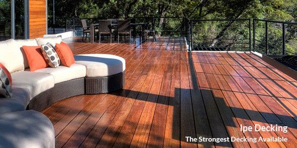 ipe decking vs