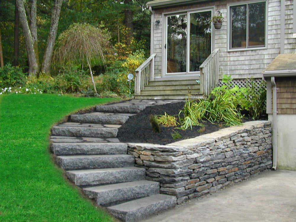 Caledonia Granite Steps Cape Cod Ma Nantucket Boston