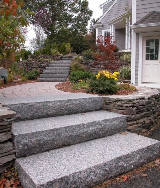 granite caledonia steps