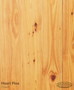 Heart Pine Natural Plank Rubio