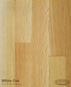 white oak rift quartered