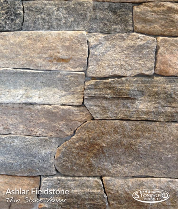 Stone Fireplace Veneer Ashlar Fieldstone Thin Stone