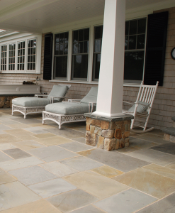 pennsylvania bluestone pavers variegated Cape Cod Nantucket Island