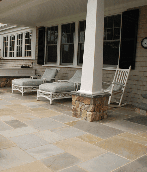 pennsylvania bluestone pavers variegated Cape Cod Nantucket Island