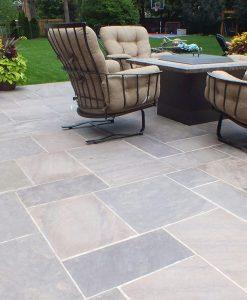 brownstone stone pavers
