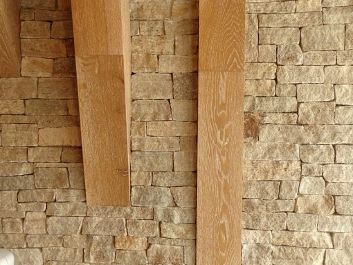 stone veneer tan