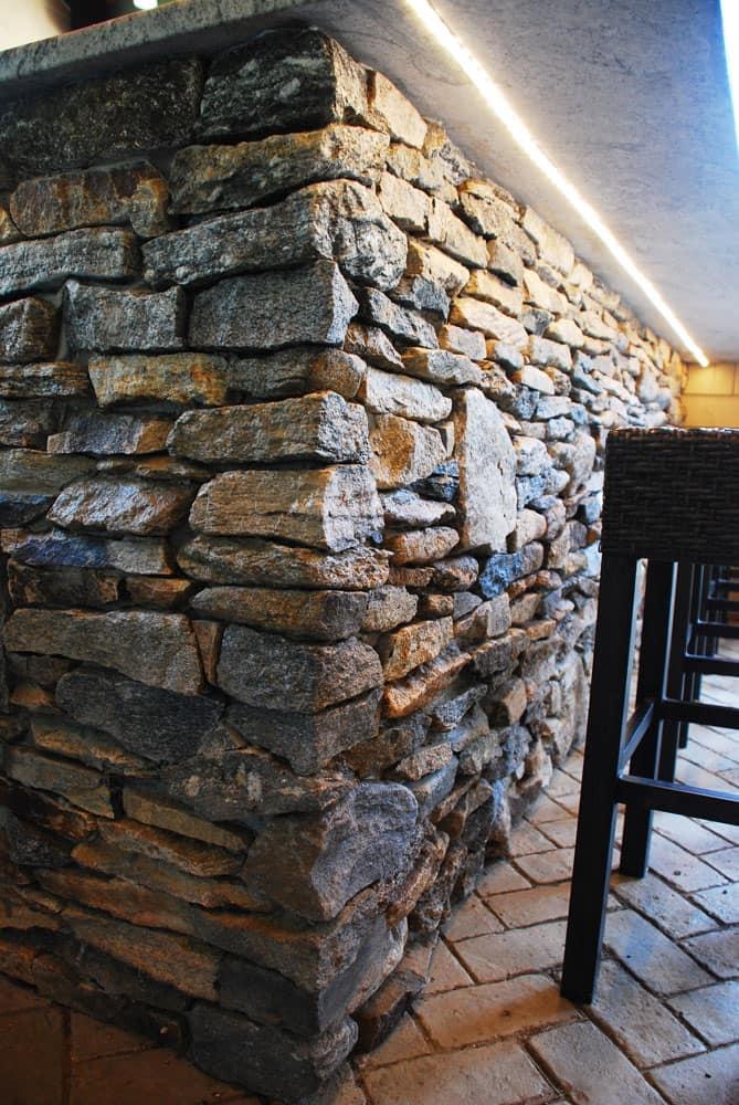 Ledgestone thin stone veneer corners chatham ma for Installing stone veneer over wood