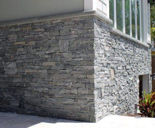 greenwich gray ledgestone veneer corners