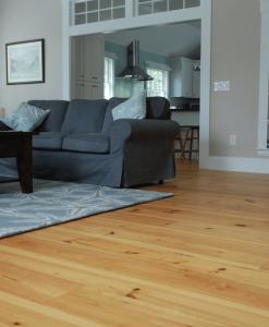 heart pine floor