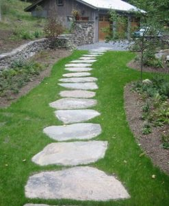 new england fieldstone steppers