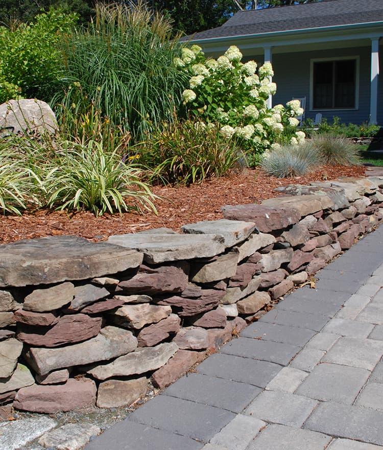 New England Fieldstone : New england fieldstone cape cod wallstone