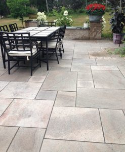 patio pavers grey granite phonecian buff