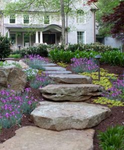 natural stone steps cape cod ma
