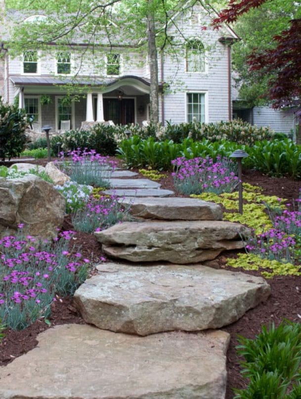 Natural Stone Steps : Natural stone steps pa fieldstone cape cod south