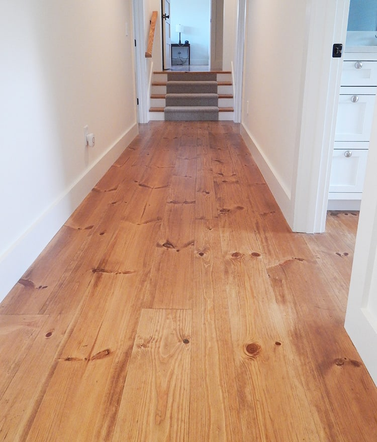 Pumpkin pine floors meze blog for Wood flooring ct