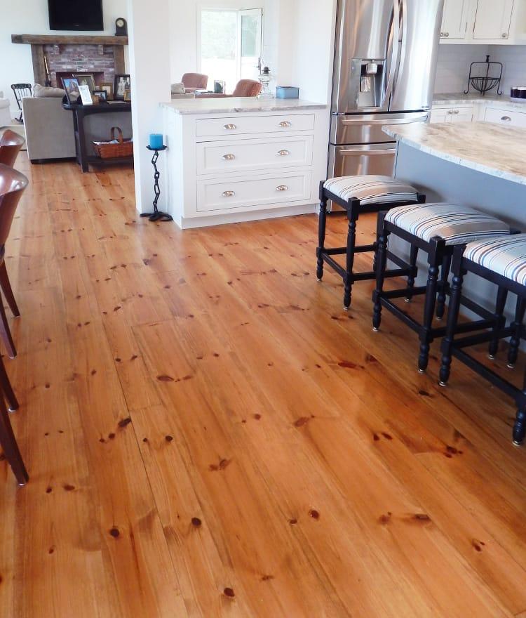 Hardwood Flooring Darien Ct: Pumpkin Pine Flooring