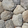 round pattern natural stone veneer