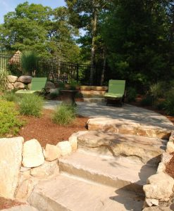 tan stone steps osterville