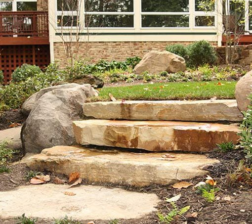 south bay steps natural stone