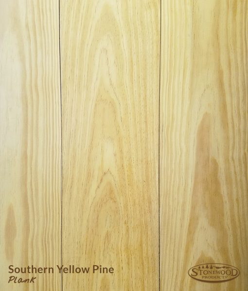 southern yellow knotty pine poly
