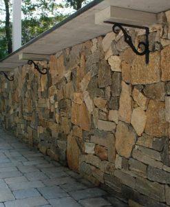 stone veneer ashlar corner