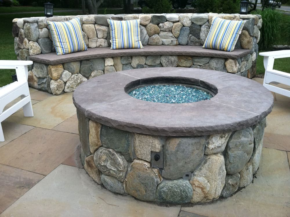 Custom Gas Fire Pits - Propane, Natural Gas Fire Pits | Cape Cod
