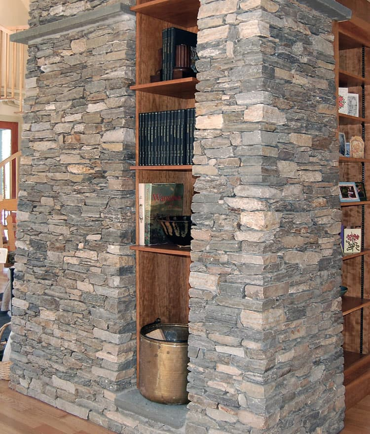 Ledgestone veneer natural thin stone fieldstone thin veneer
