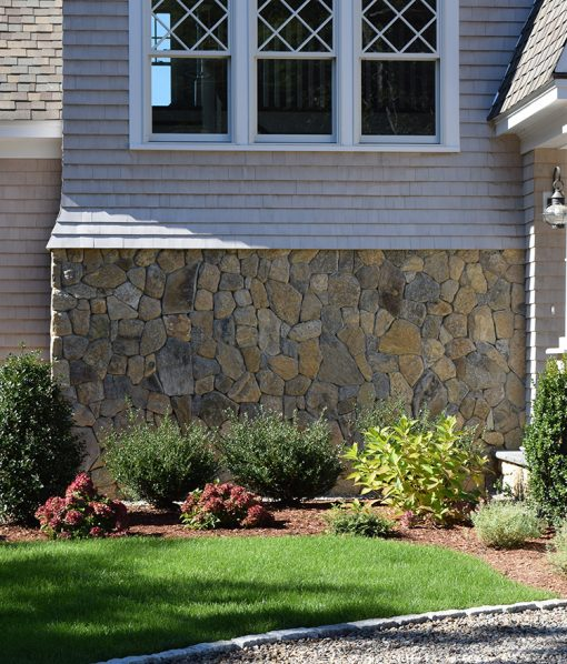 Thin Stone Veneer Fieldstone Mosaic Siding