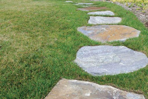 ticonderoga granite flagging walkway