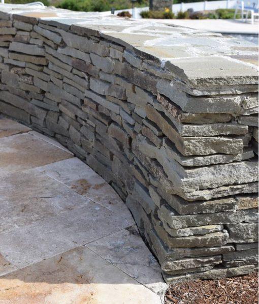 wall stone colonial grey Chatham Cape Cod