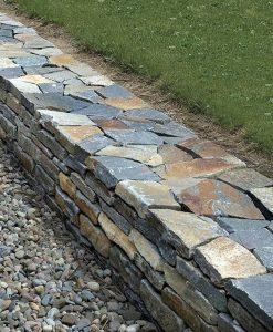 weathered granite wall stone saratoga thin