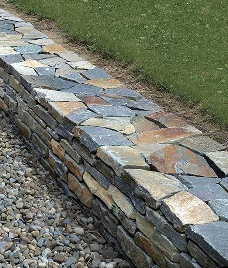 Weathered Granite Stone : Natural wall stone saratoga weathered wallstone cape