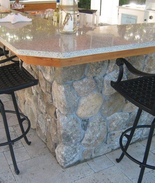 stone veneer outdoor kitchen cape cod
