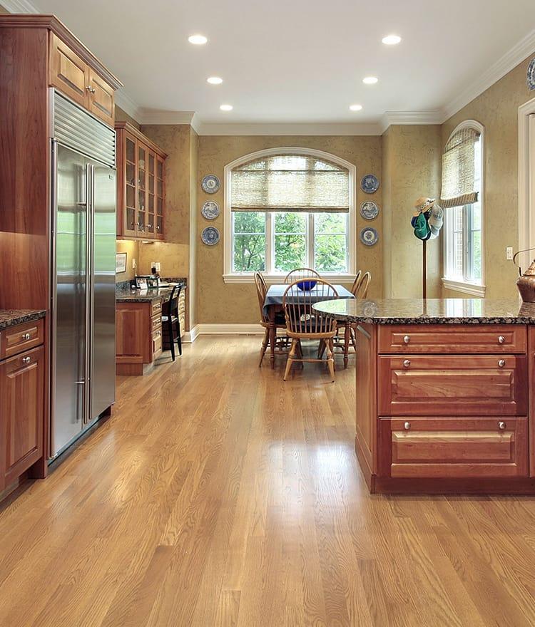 White Kitchen Oak Floor: White Oak Flooring Hardwood Floors Unfinished