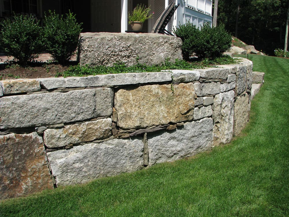 Vintage Stone Walls : Antique granite wall stone cape cod ma boston ct