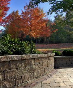 estate retaining wall
