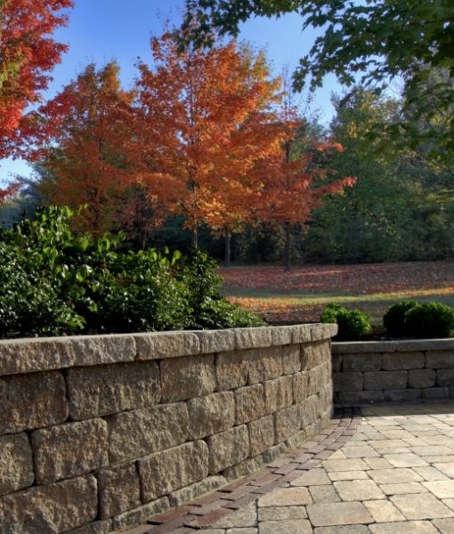 estate retaining wall
