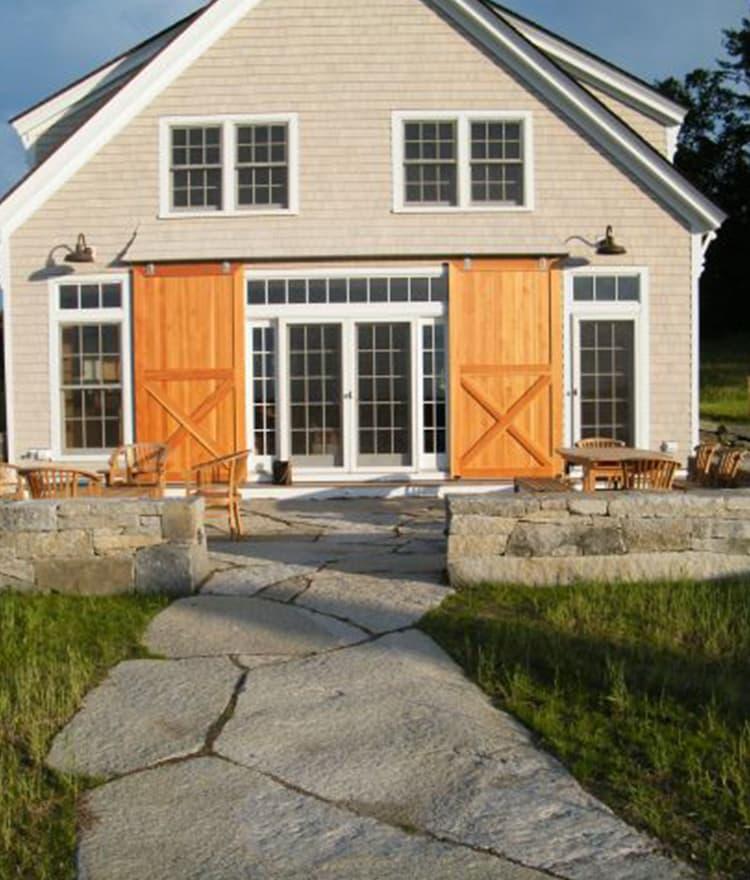 Weathered Granite Stone : Weathered granite wall stone cape cod islands
