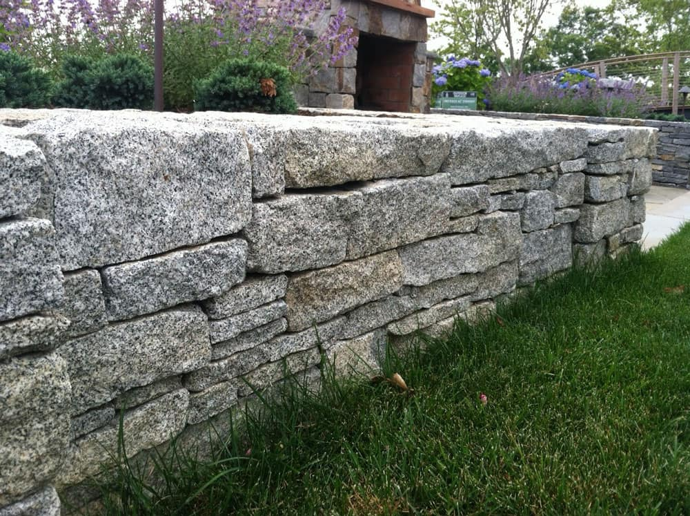 Weathered Granite Wall Stone Cape Cod Islands Stone Supplier
