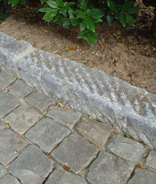 antique granite curbing