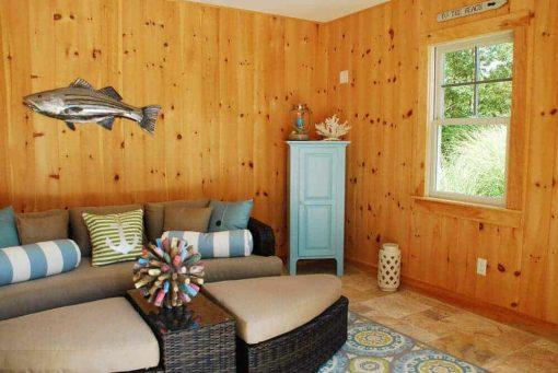 pine shiplap cabana