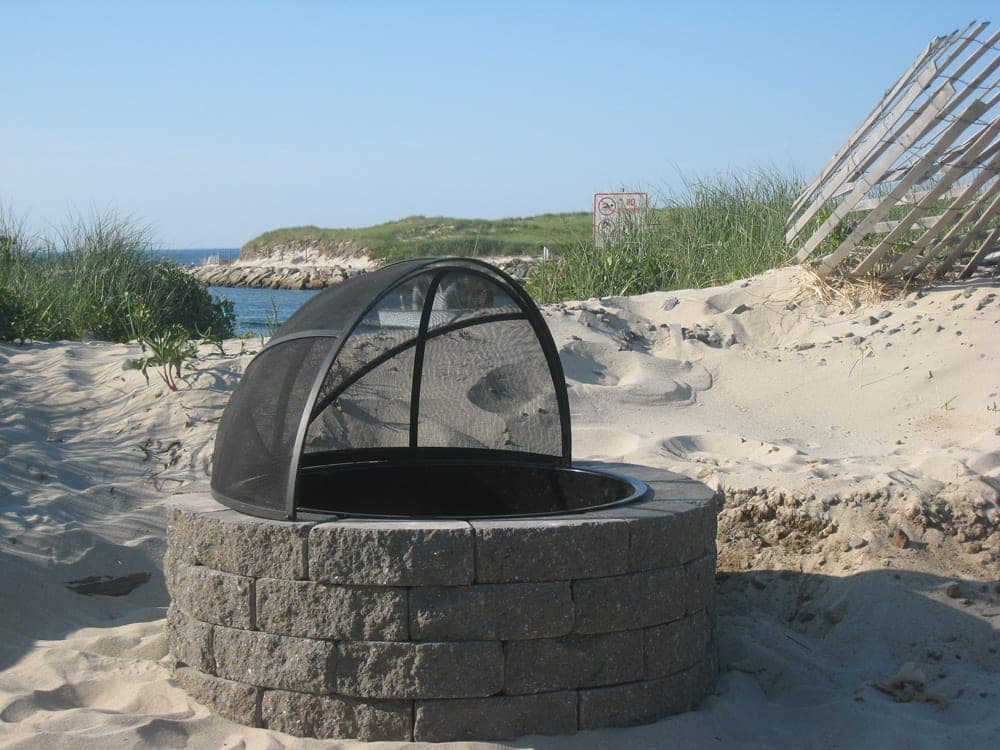 Fire Pit Spark Screens Cape Cod Ma Ri Ct Nh Vt