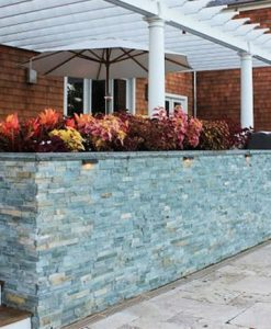 manufactured stone veneer wall