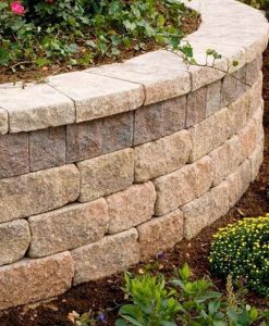 garden wallstone wall coping Cape Cod MA