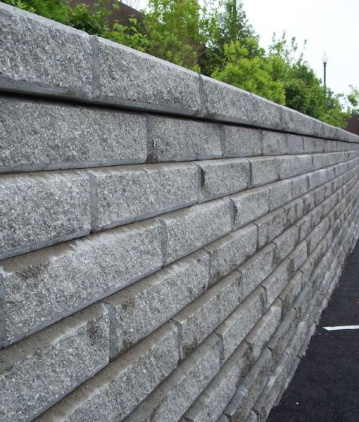 granite gray classic retaining wall