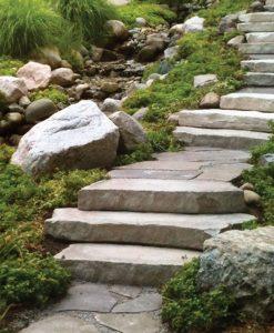 irregular stone steps manufactured rosetta boston ma