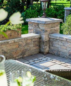 mini creta retaining wall