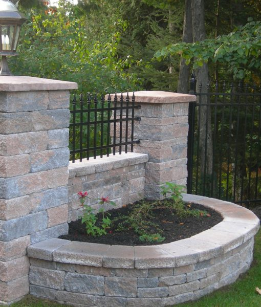 mini creta sandlewood retaining wall