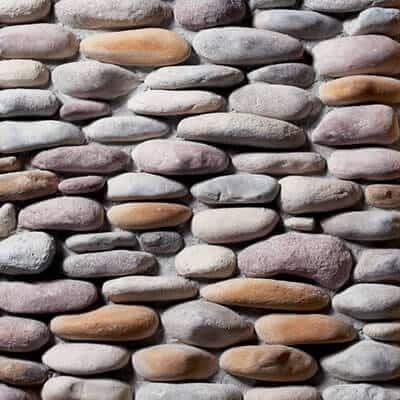pebblestone river bed