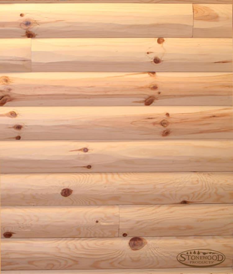 Pine log siding national shipping highest quality and for 2x6 log siding